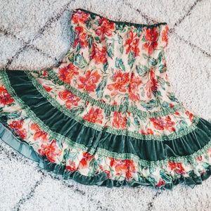 Silk skirt from Anthropology
